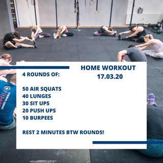 Home Workout 17.03.20