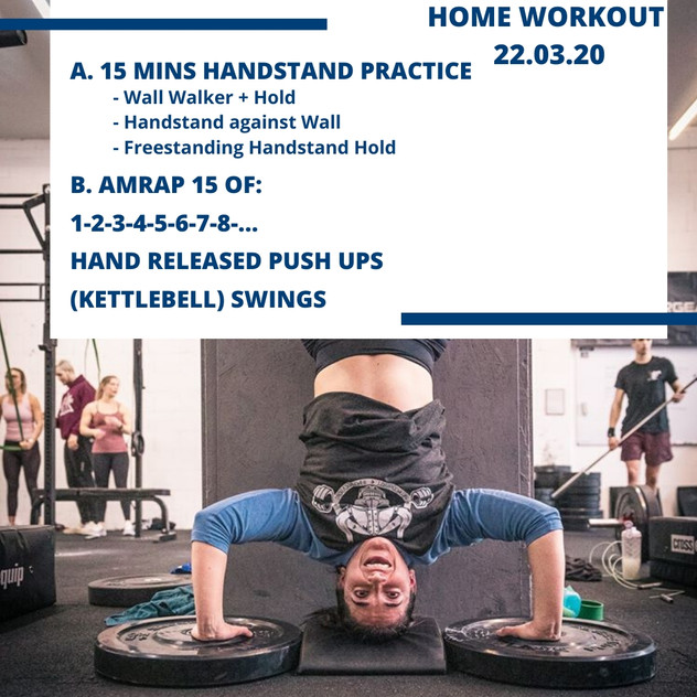 Home Workout 22.03.20