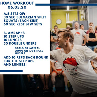 Home Workout 06.05.20