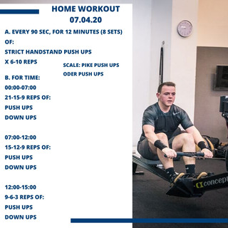 Home Workout 07.04.20