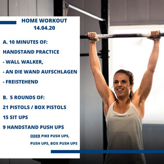 Home Workout 14.04.20