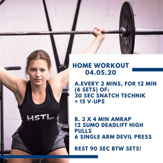 Home Workout 05.05.20