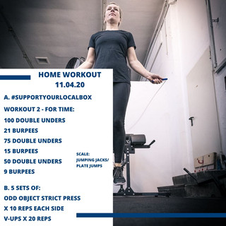 Home Workout 11.04.20