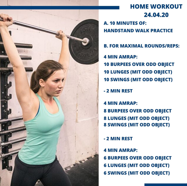Home Workout 24.04.20