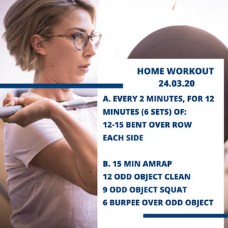 Home Workout 24.03.20