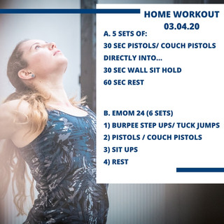 Home Workout 03.04.20