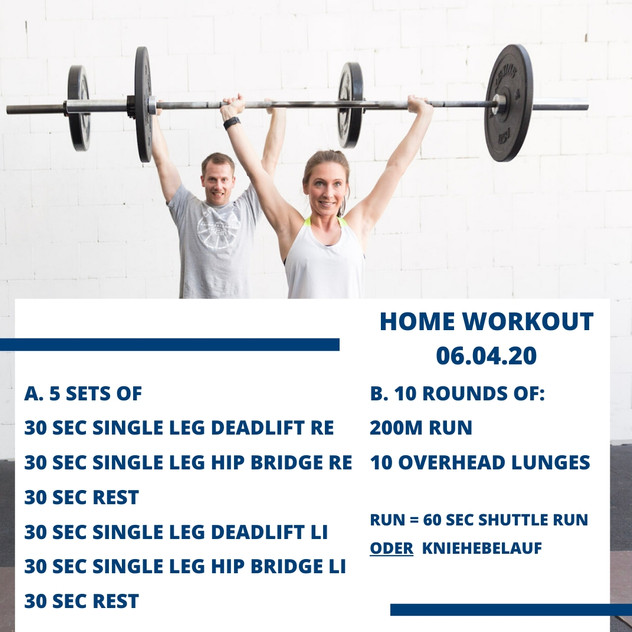 Home Workout 06.04.20