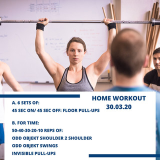 Home Workout 30.03.20