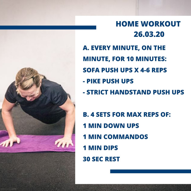 Home Workout 26.03.20