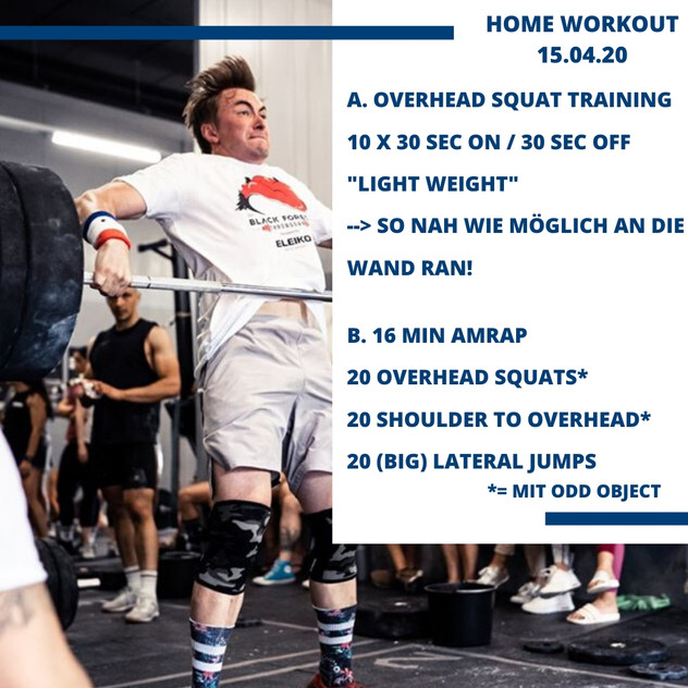 Home Workout 15.04.20