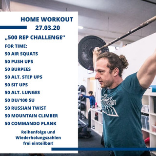 Home Workout 27.03.20