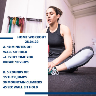 Home Workout 28.04.20