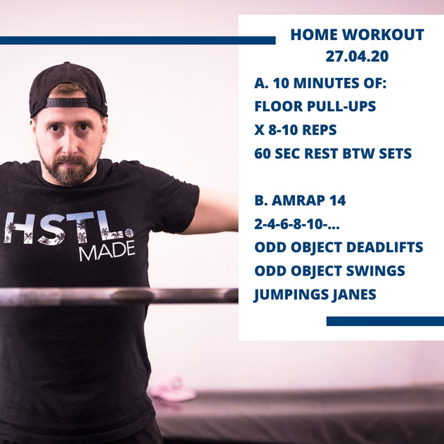 Home Workout 27.04.20