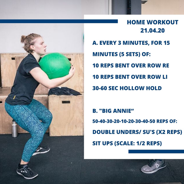 Home Workout 21.04.20