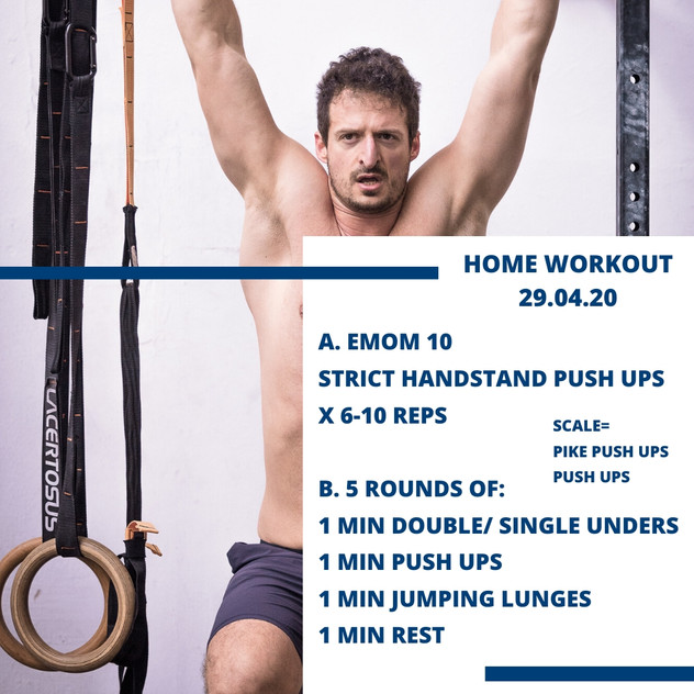 Home Workout 29.04.20