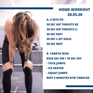 Home Workout 28.03.20