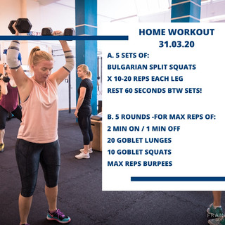 Home Workout 31.03.20