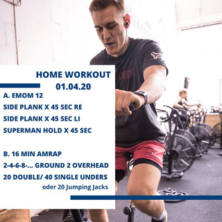 Home Workout 01.04.20