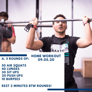 Home Workout 09.05.20