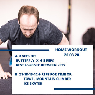 Home Workout 20.03.20