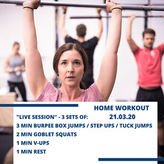 Home Workout 21.03.20