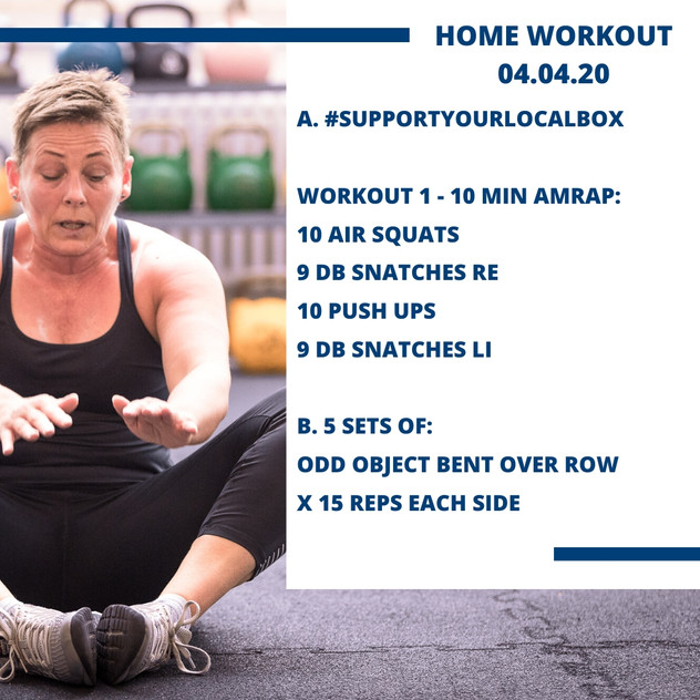 Home Workout 04.04.20