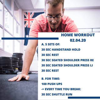 Home Workout 02.04.20
