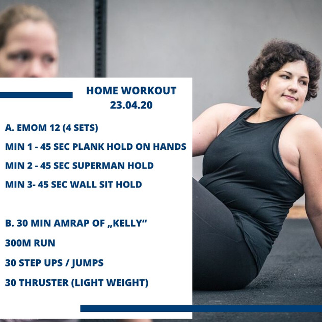 Home Workout 23.04.20