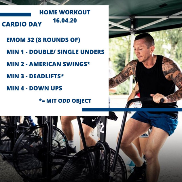 Home Workout 16.04.20