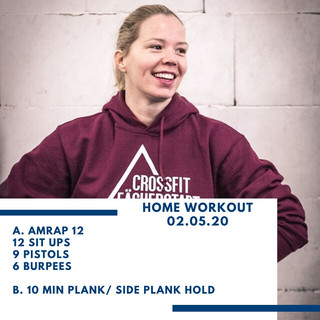 Home Workout 02.05.20