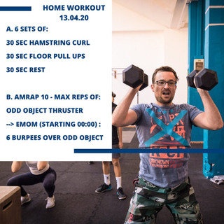 Home Workout 13.04.20