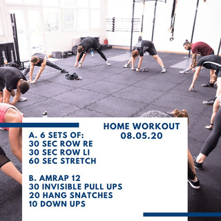 Home Workout 08.05.20