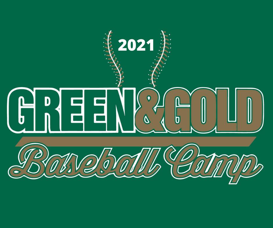 2021 Green and Gold Baseball Camp