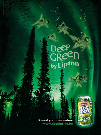 Back Lumineux Lipton Deep Green