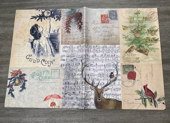 Decoupage Paper - Christmas Two