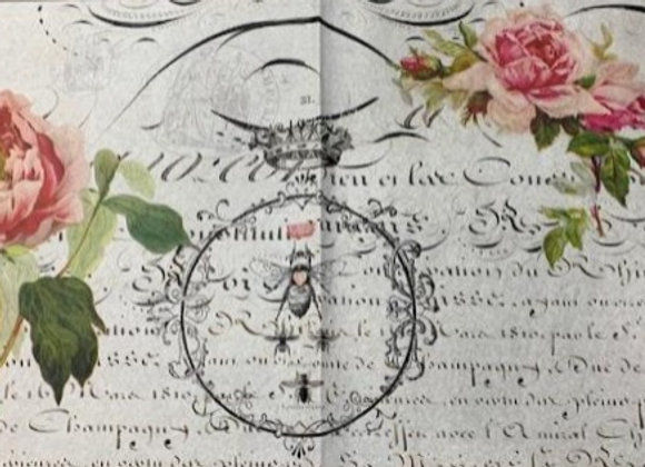 #15 Decoupage Paper - Crown