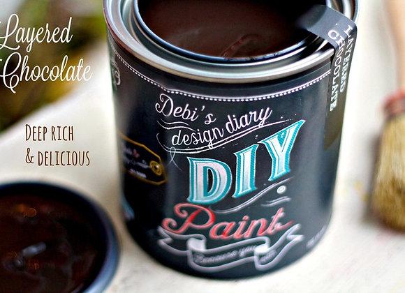 DIY Paint - Layered Chocolate