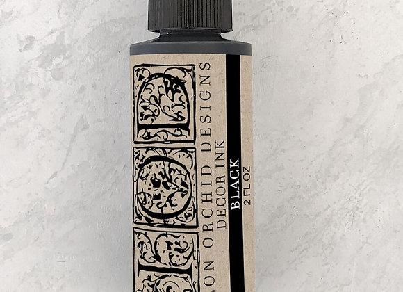 Decor Ink - 2 Oz. Black, China Blue, or Stone Grey