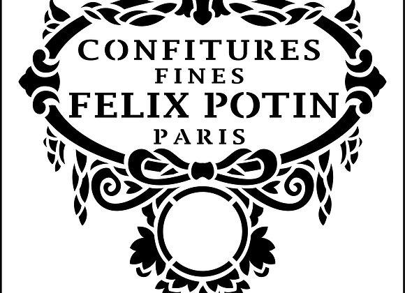 JRV - Paris Bow Label