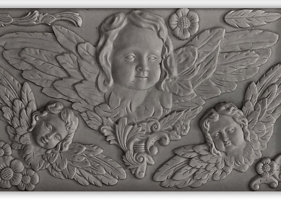 "IOD Decor Mould - Classical Cherubs 6"" x 10"""