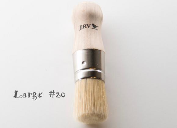 JRV Large Stencil-Wax Brush