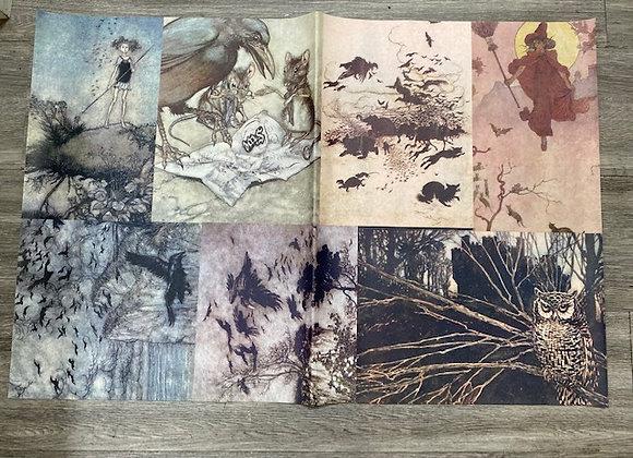 Decoupage Paper - Birds