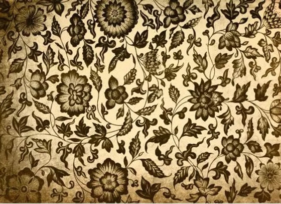 #38 Grungy Floral