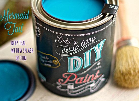 DIY Paint - Mermaid Tail