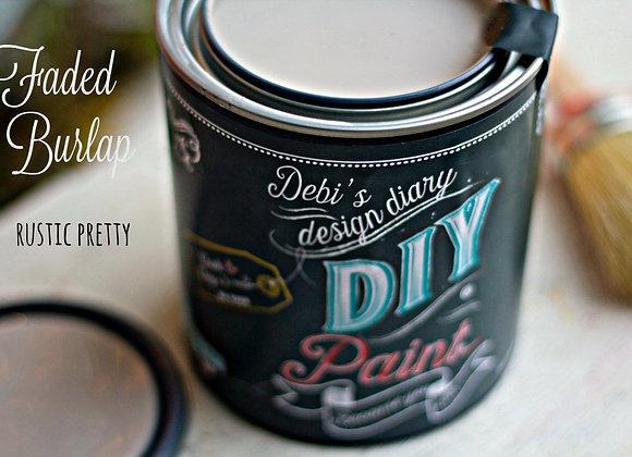 DIY Paint - Faded Burlap