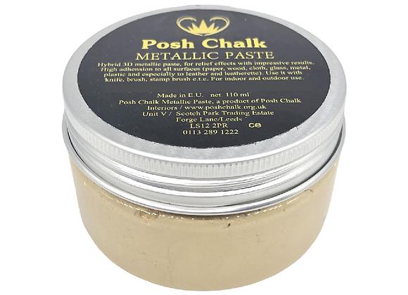 Posh Chalk Metallic Paste - Shiny Gold