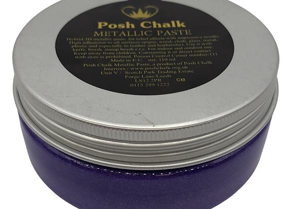 Posh Chalk Metallic Paste - Violet 110ml