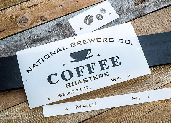 FJ National Brewers Co. - 3 Stencils