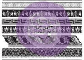 """Decor Stamp 12"""" x 12"""" – Medium Trims"""