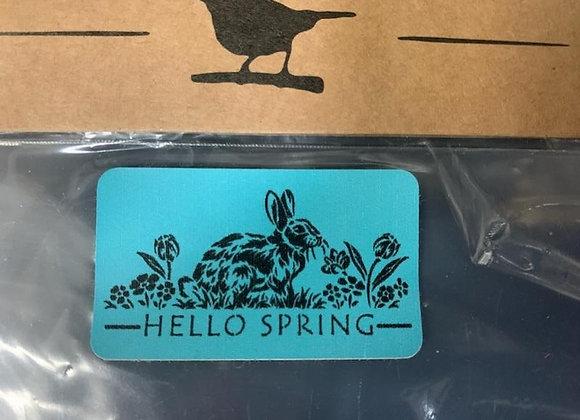 Jamie Ray Stencil - Hello Spring